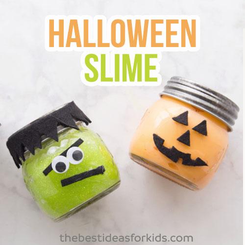 Halloween Slime Kids Activity