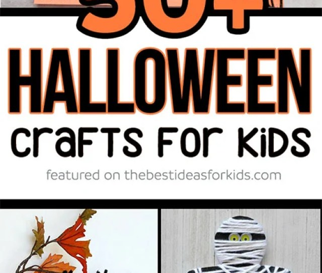 50 Halloween Crafts For Kids
