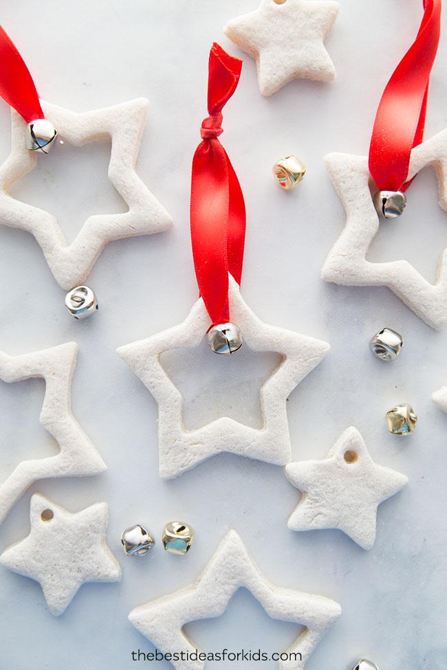 Salt Dough Decorations Star Ornaments