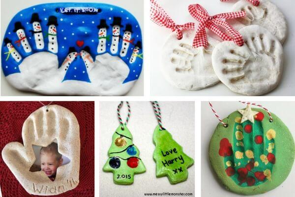 Flour Christmas Decorations