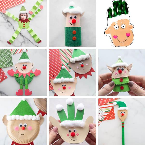 Christmas Elf Crafts for Kids