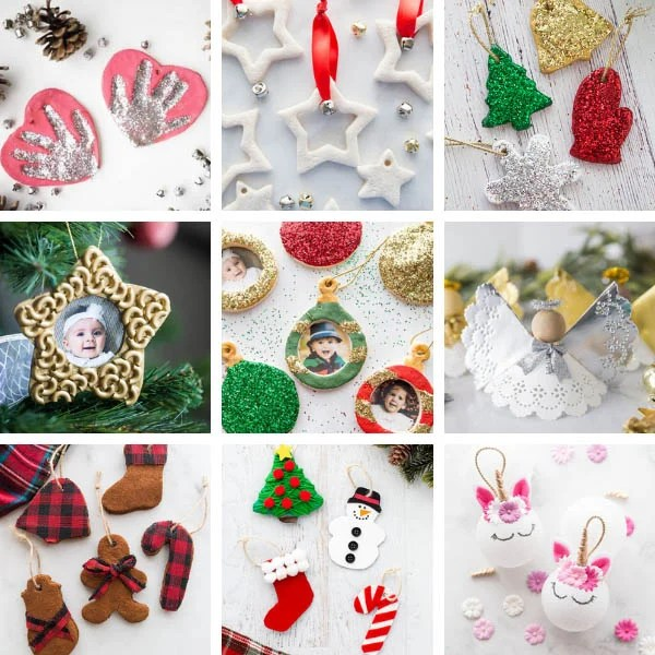 Ornament Christmas Crafts for Kids