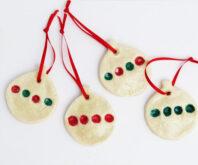 Christmas Tree Fingerprint Ornament