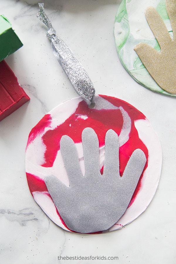 Baby Handprint Clay