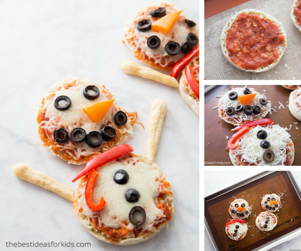 English Muffin Pizzas for Toddlers