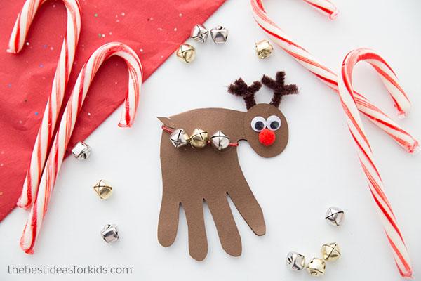 Reindeer Handprint Craft
