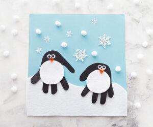 Penguin Handprint