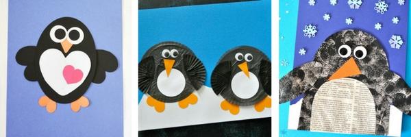 Penguin Paper Craft