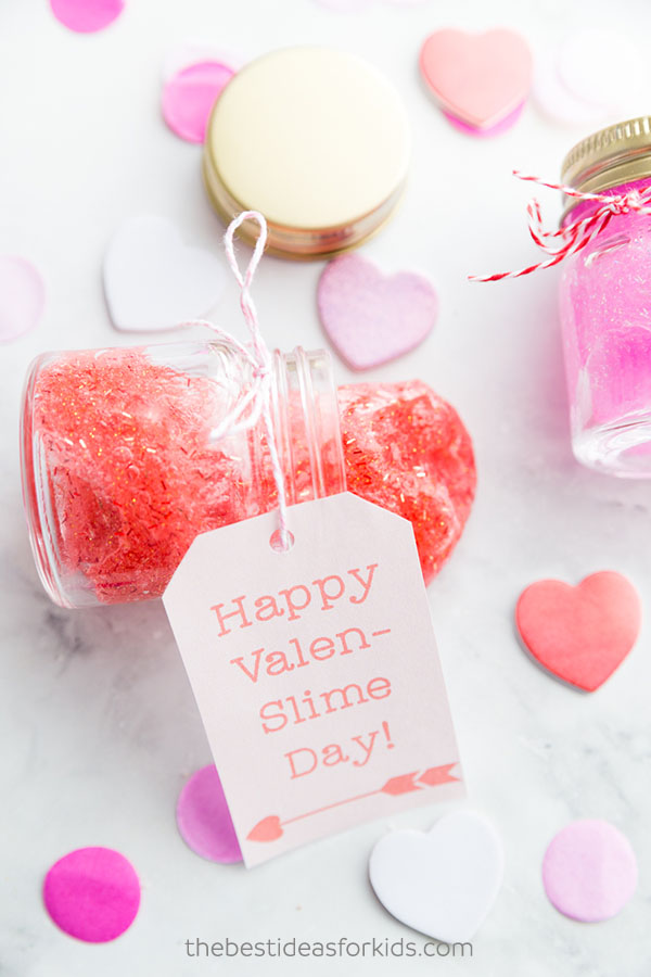 Pink & Red Valentine Slime