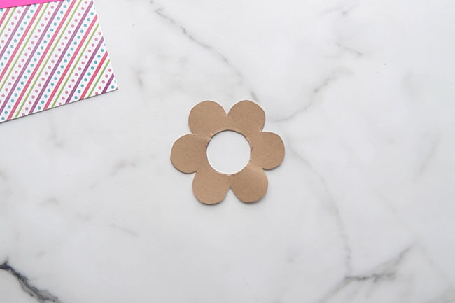Cut out Flower Template