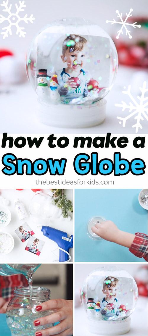 How to Make a Homemade Snow Globe