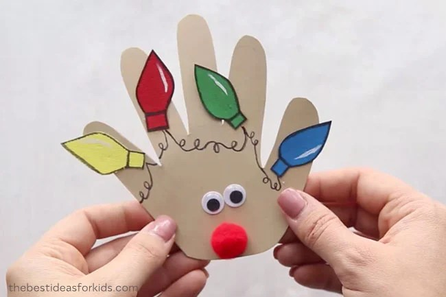 Christmas Handprint Ideas