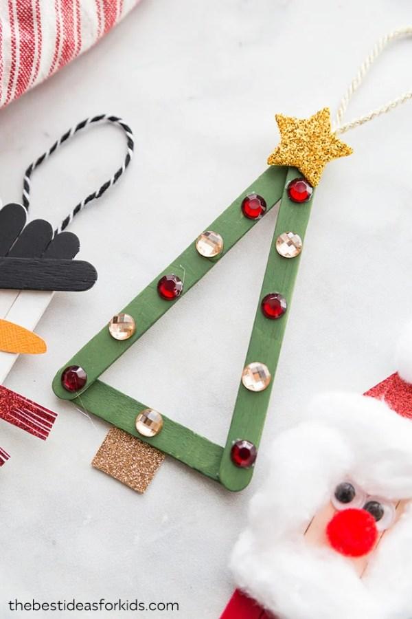 christmas ornaments popsicle sticks # 58