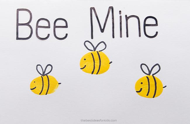 Fingerprint Bee Card