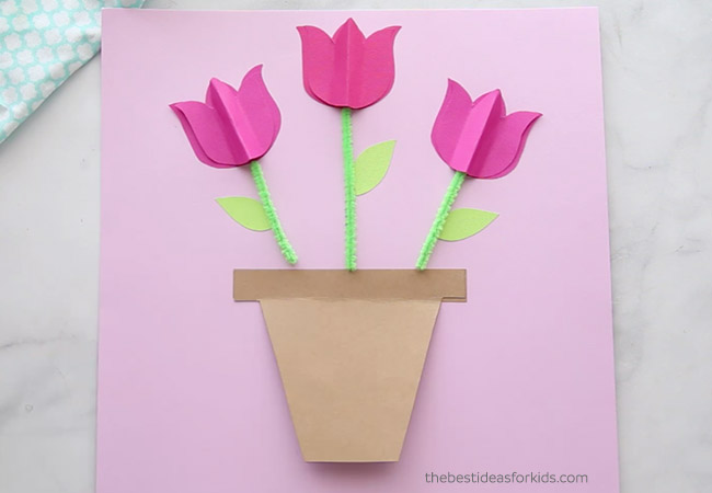 DIY Mothers Day Card Craft
