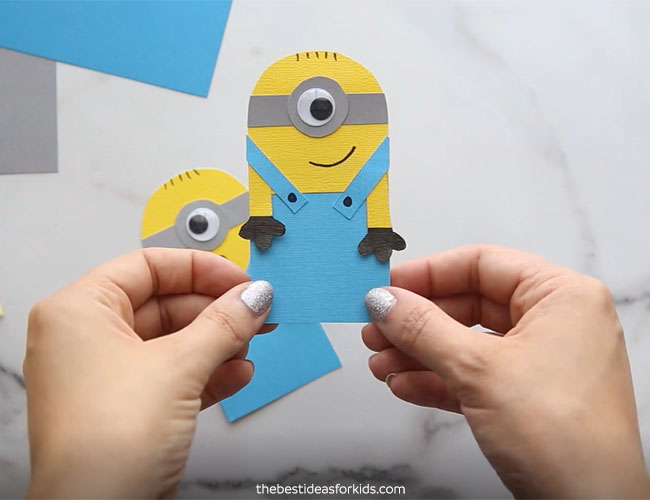 Minion Bookmark Craft