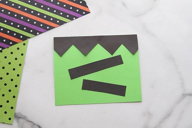 Make Frankestein DIY card