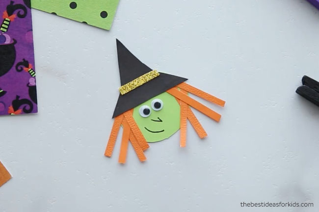 Make Witch Clothespin