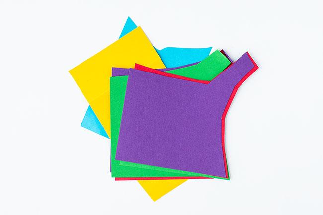 Scrap Paper Snail Craft