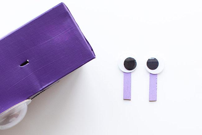 Make Purple Monster Eyes
