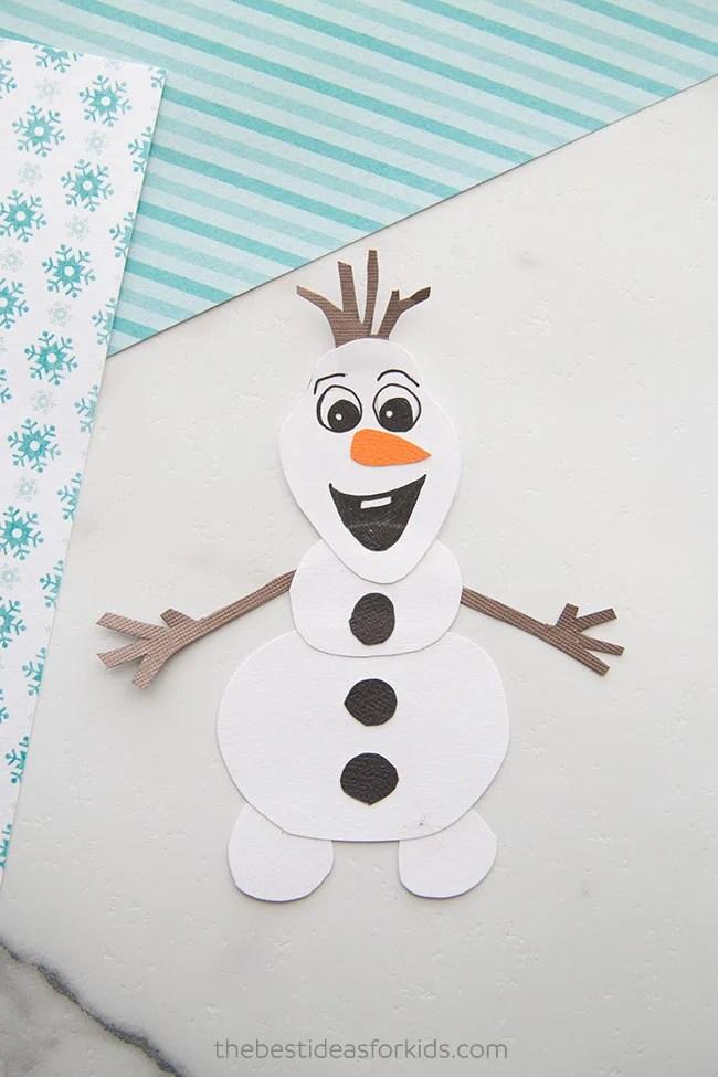Frozen Olaf Craft