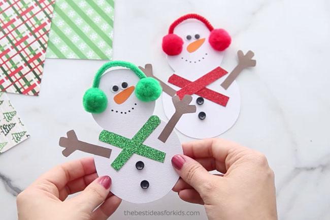 Snowman Card Handmade