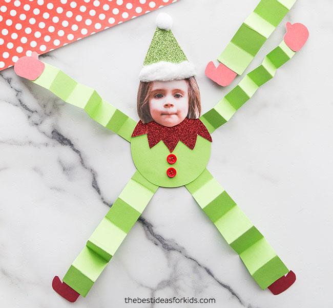 Wiggly Elf Paper Craft