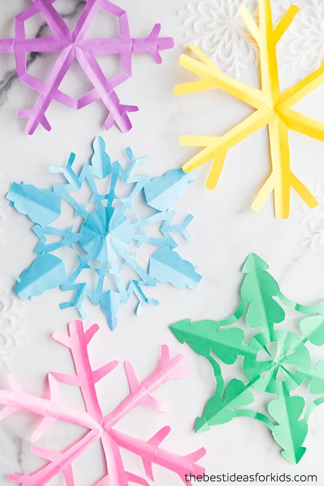 Free Paper Snowflake Template