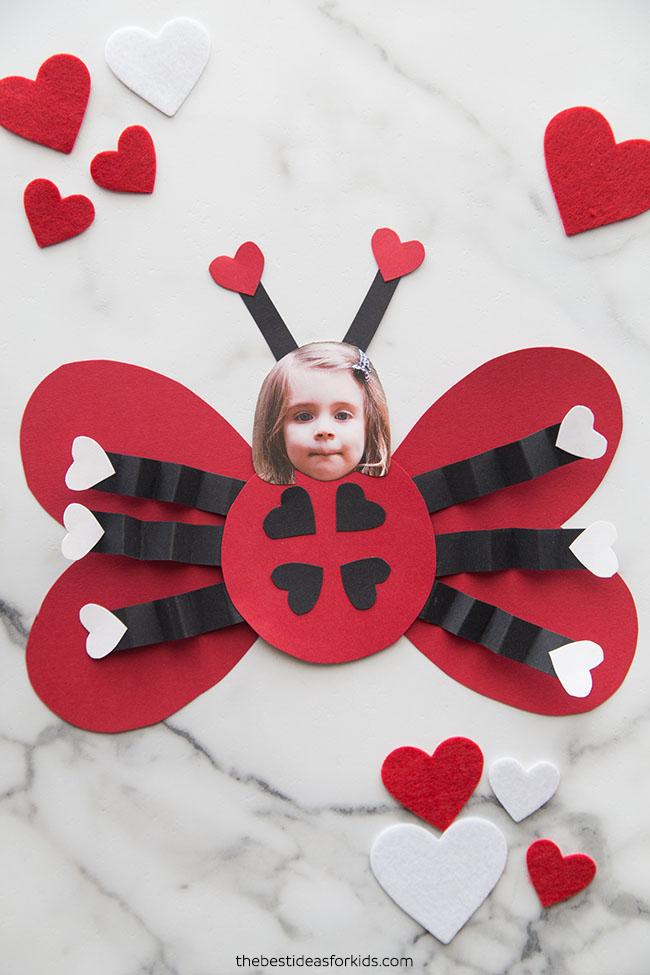 Ladybug Valentine Craft