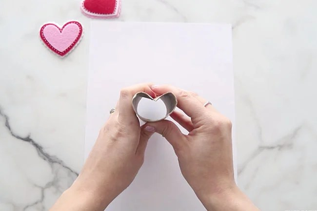 Make Paper into Heart Shape