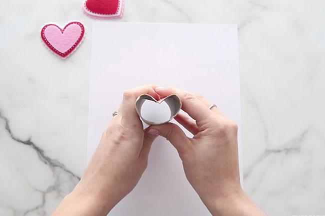 Make Paper into Heart Shape