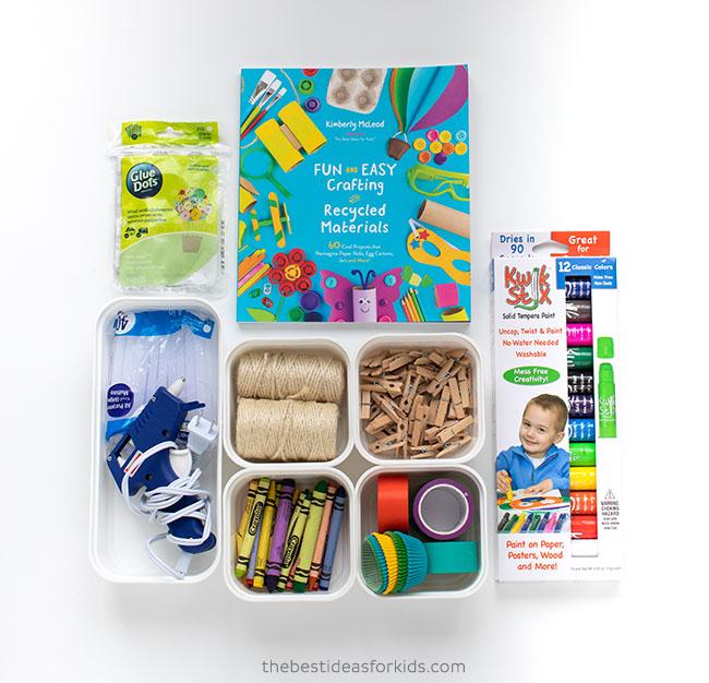 Art Cart Bottom Kids Craft Supplies