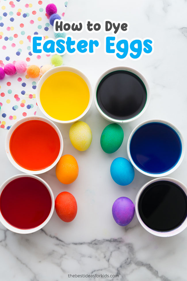 Dying Easter Eggs Tutorial