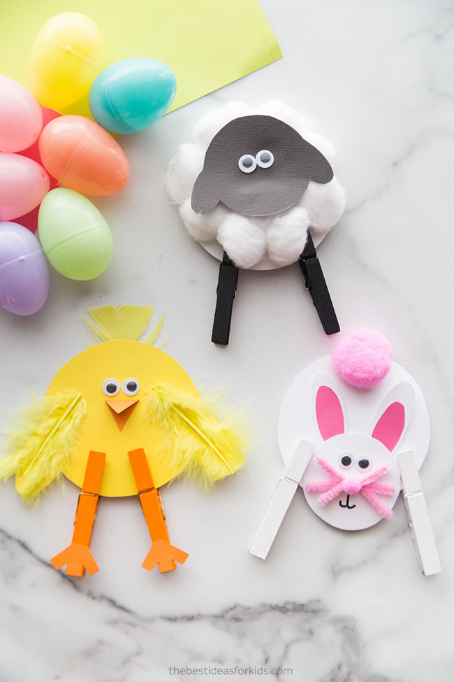 Easter Clothespin Crafts for Kids