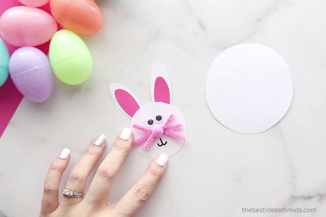 Make Easter Bunny Face