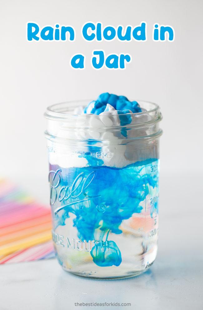 Rain Cloud in a Jar Experiment