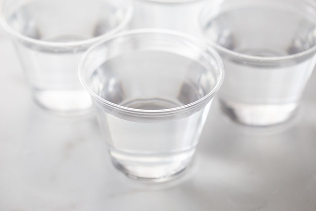 Fill Cups with Water