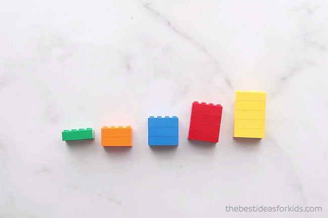 Lego for Math Counting