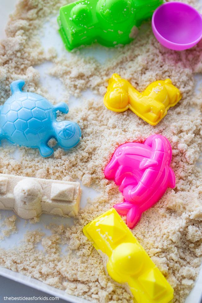 Moldable Moon Sand Taste Safe