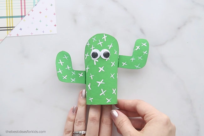 Add Googly Eyes to Cactus