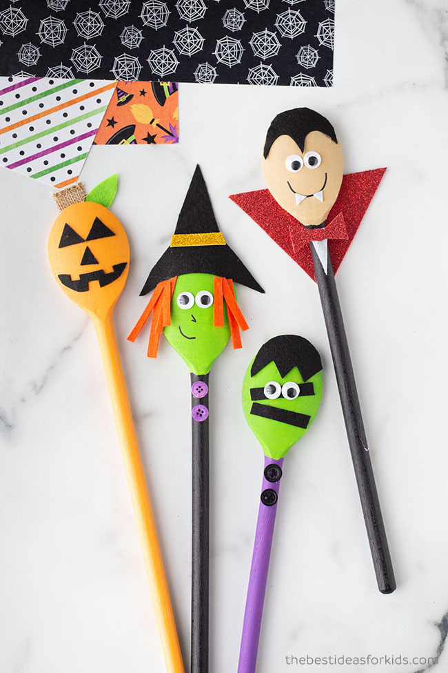 Halloween Spoon Crafts