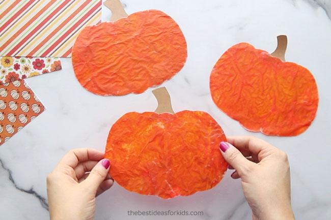 Add Stem to Pumpkin