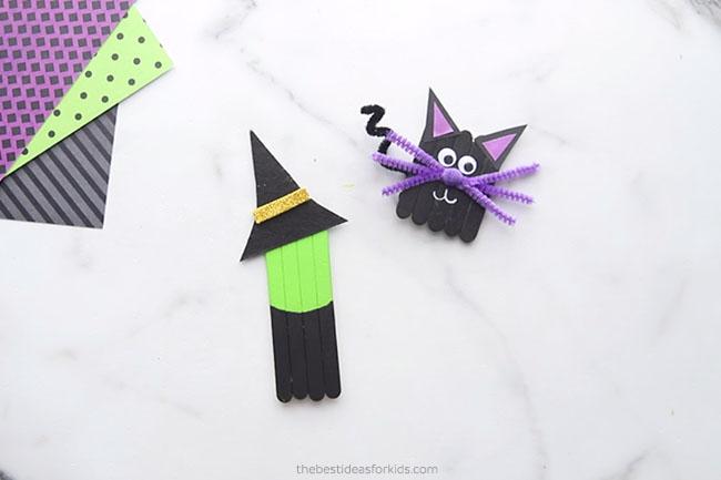 Make felt witch hat