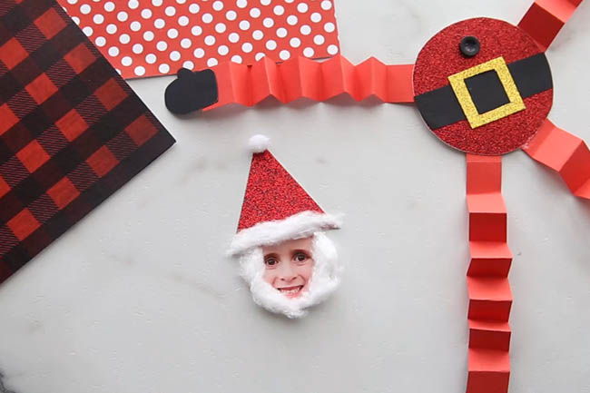 Glue on Santa Hat
