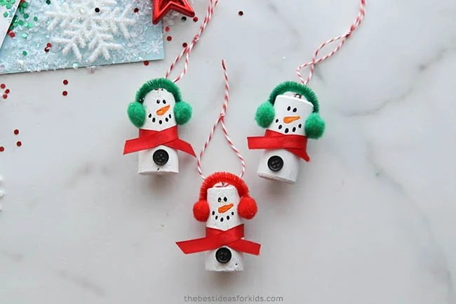 Add Baker's Twine to Hang Ornaments
