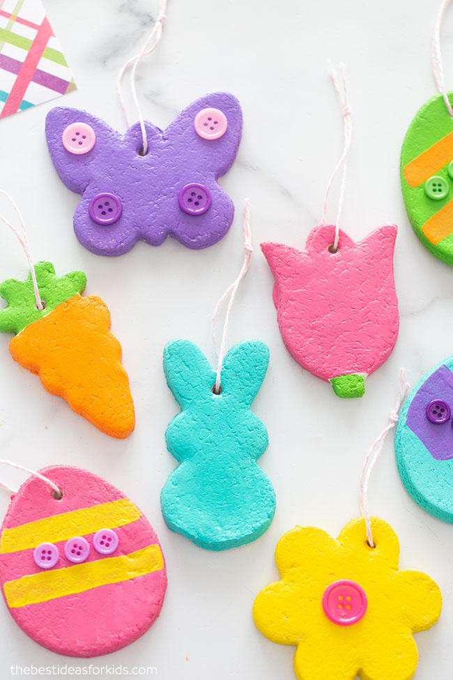 Salt dough Easter ornament recipe