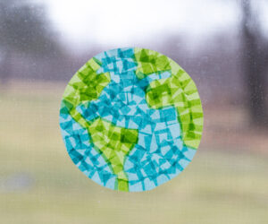 Earth Suncatcher Craft