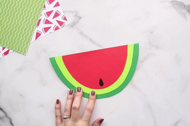 Add Watermelon Seed to Card