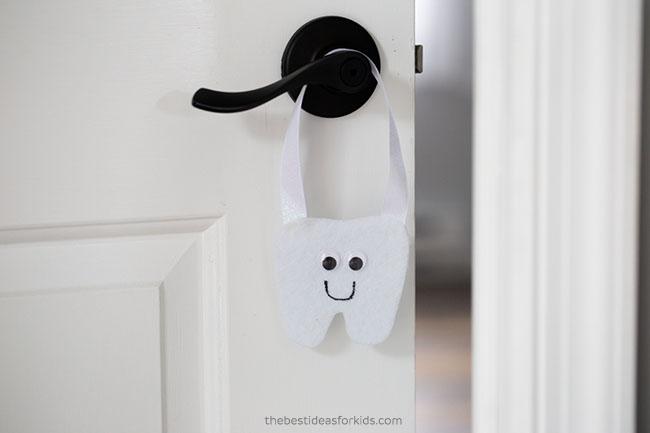 Tooth Fairy Felt Pouch DIY