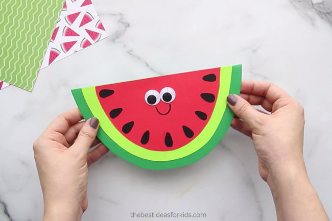 Watermelon Template for Craft